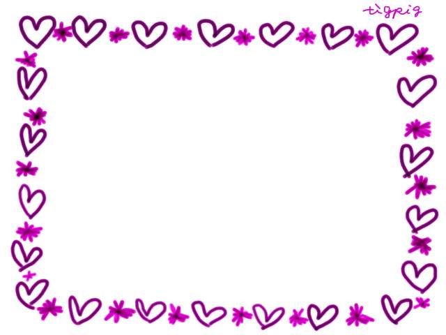 フリー素材:フレーム;ピンクの ... : 誕生日 メッセージ テンプレート 無料 : 無料