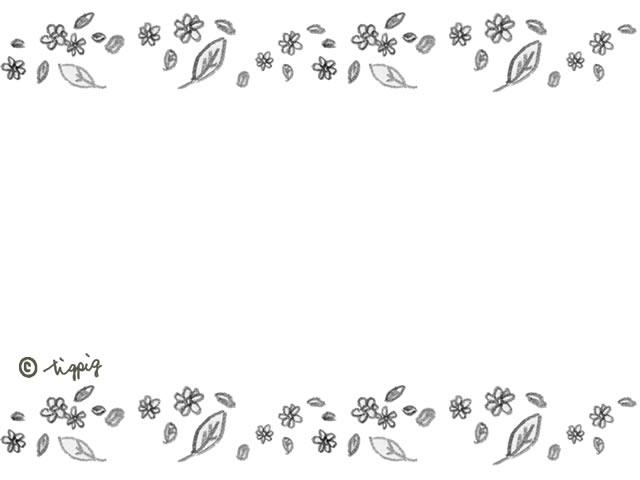 ブライダル ブライダル フレーム イラスト : と葉っぱのラインのフレーム ...