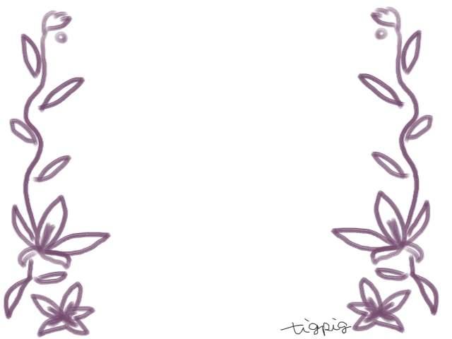 フリー素材 フレーム ガーリーな南国風の花のイラスト素材 ネットショップ制作などに使える約5000点のwebデザイン素材 Tigpig